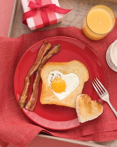 Valentines Day 2019 Treats Heart Shaped Eggs And Toast
