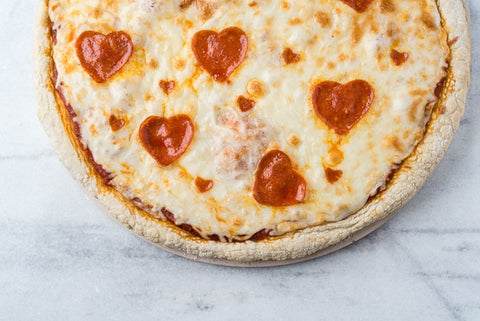 Valentines Day Treats 2019 Heart Shaped Pepperoni Pizza