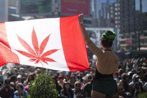 What Canada's Cannabis Legalization Means for YOU Canadian Flag