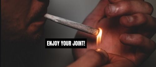 how to properly light a joint