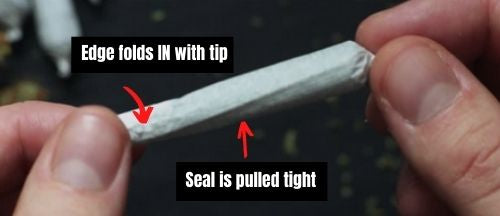 seal cannabis joint