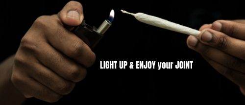how to light a joint