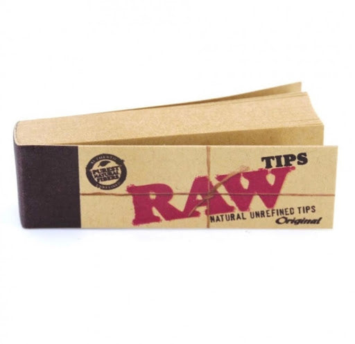 raw natural rolling tips