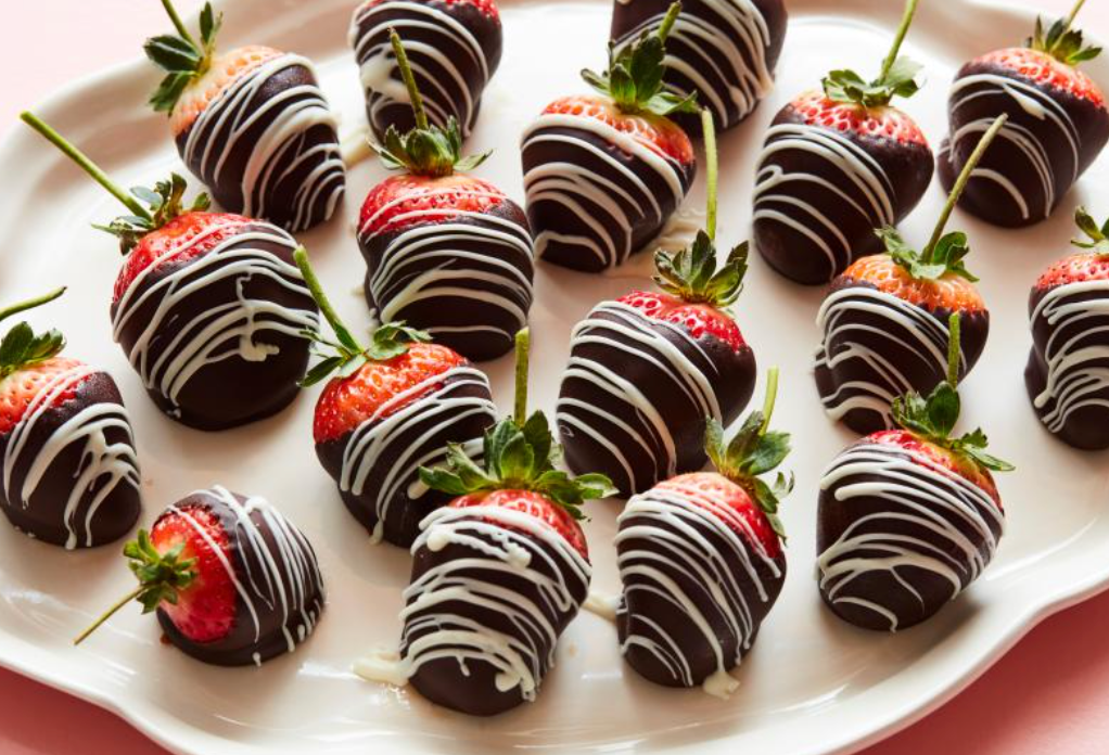 thc infused chocolate strawberries