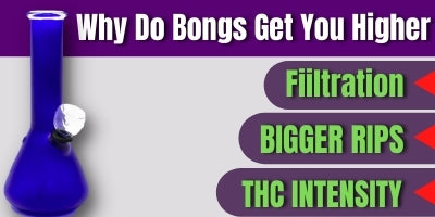 why do bongs get you higher