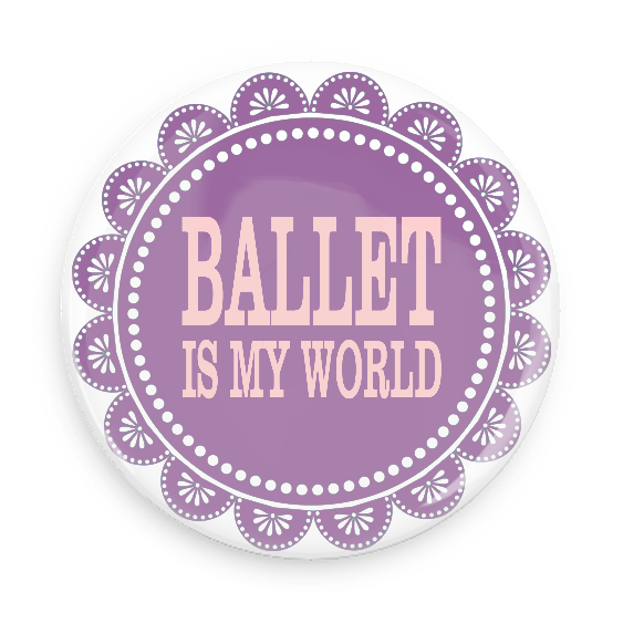 Pocket Mirror - Ballet Is My World