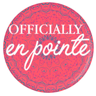 Button - Officially En Pointe (Tapestry)