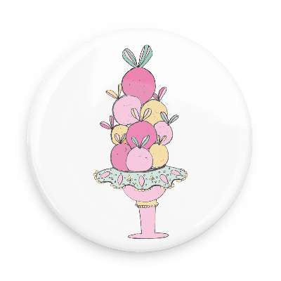 Button - Ice Cream