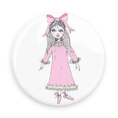 Pocket Mirror - Clara