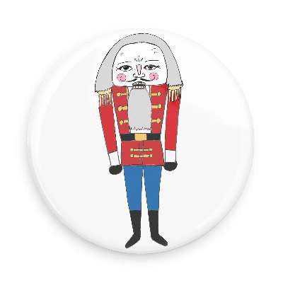 Pocket Mirror - Nutcracker