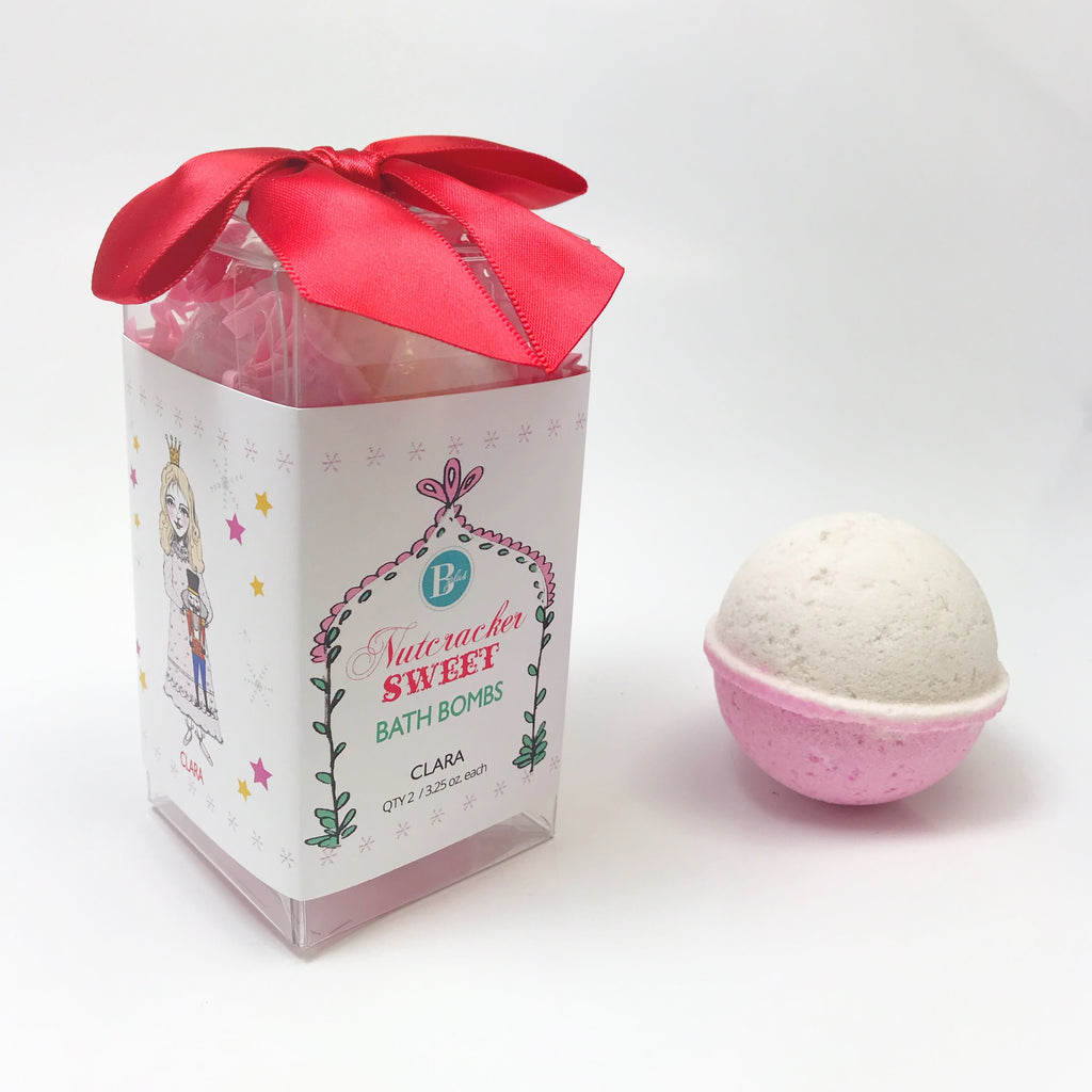 3.25 oz. Bath Bomb - Clara & Nutcracker