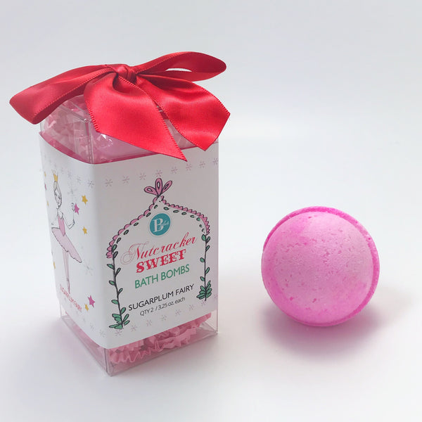 3.25 oz. Bath Bomb - Sugarplum Fairy