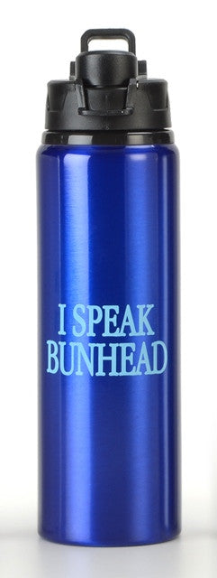 Water Bottle - I Speak Bunhead
