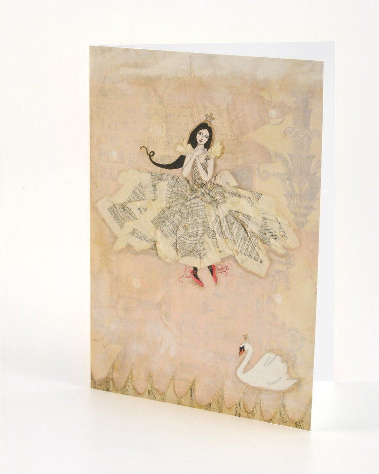 Greeting Card - Swan Dance