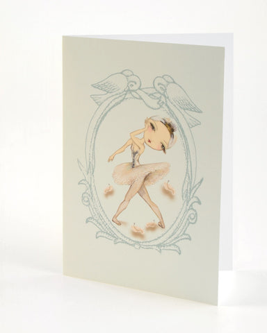 Greeting Card - Swan Queen