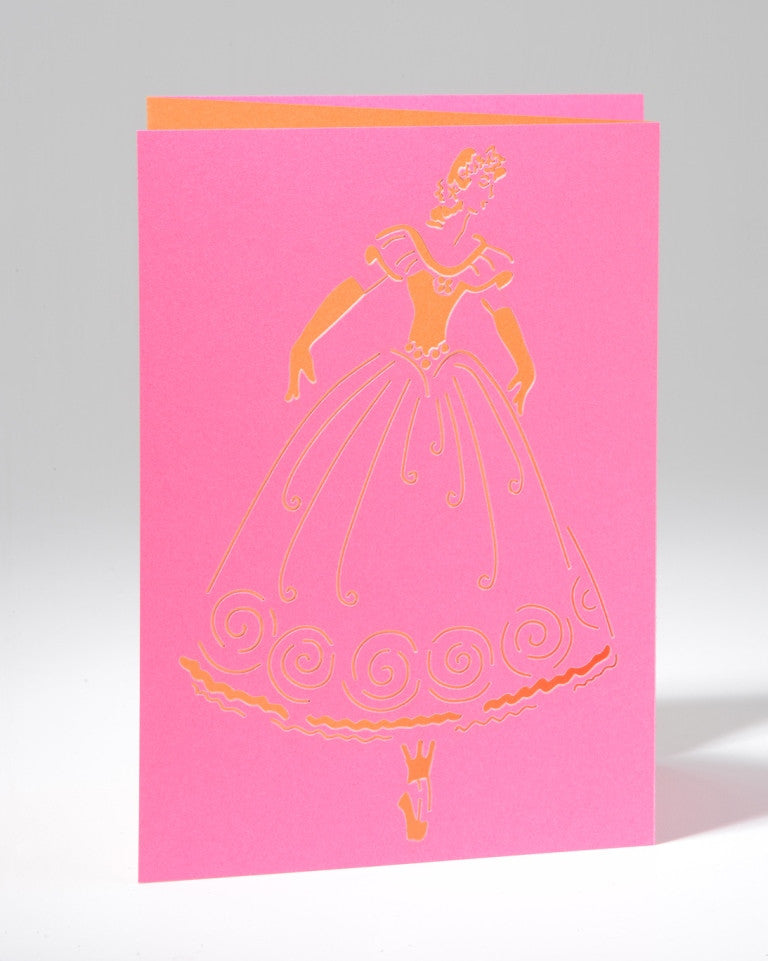 Laser Cut Greeting Card - Releve
