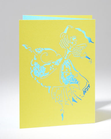 Laser Cut Greeting Card - A La Seconde