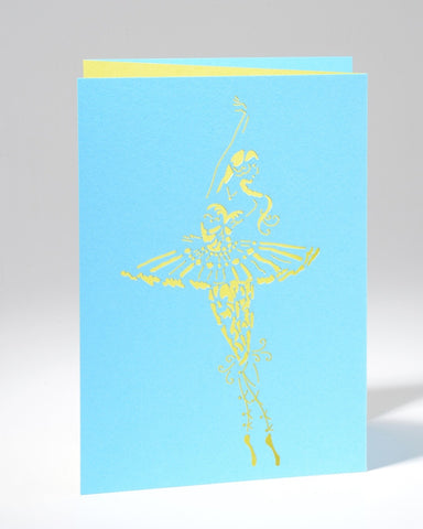 Laser Cut Greeting Card - En Pointe
