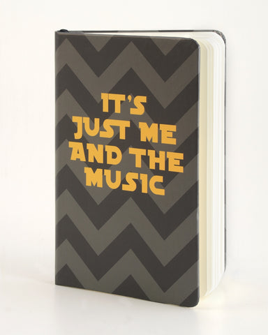 Mini Journal - It's Just Me and the Music