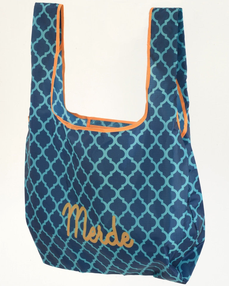Shopping Tote - Merde (Blue)