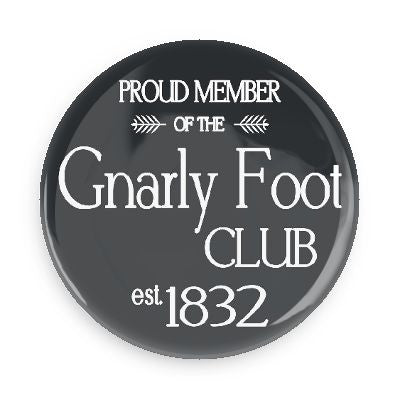 Pocket Mirror - Gnarly Foot Club