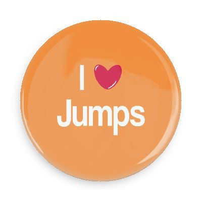 Button - I Love Jumps