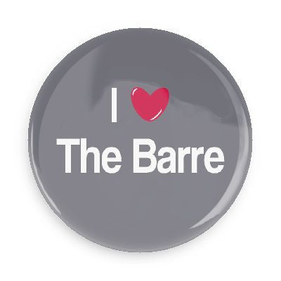 Button - I Love The Barre