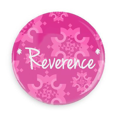 Button - Reverence