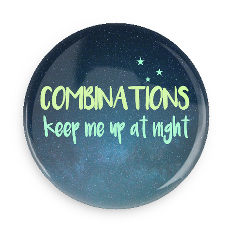 Pocket Mirror - Combinations Keep Me Up At Night