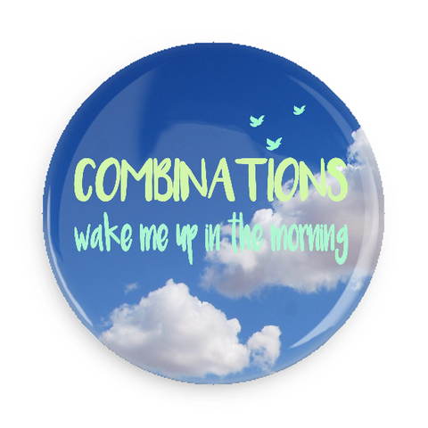 Button - Combinations Wake Me Up In The Morning