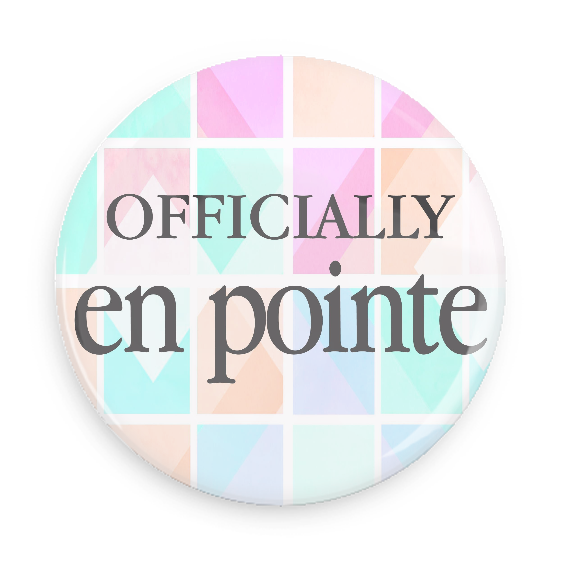 Button - Officially En Pointe (Color Grid)
