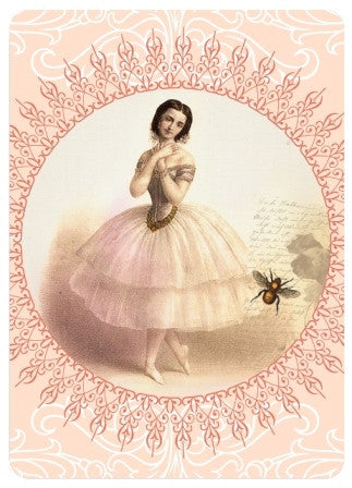 Playing Cards - Marie Taglioni / Bee