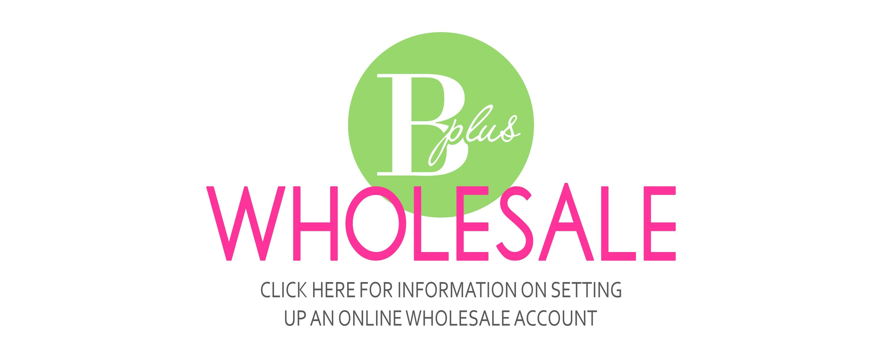 Wholesale Account Info