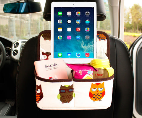 Cute Car Backseat Organizer/Caddy