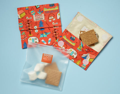 Good Lunch® Snack Sack Set (collection patterned)