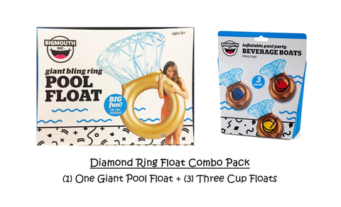 Bling Diamond Ring Inflatables Combo Pack