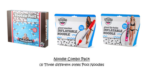 Pool Noodles Inflatables Combo Pack