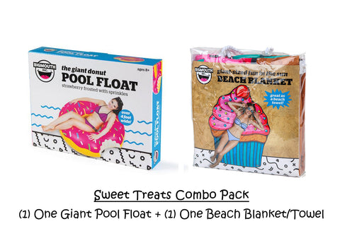 Sweet Treats Inflatables/Towel Combo Pack