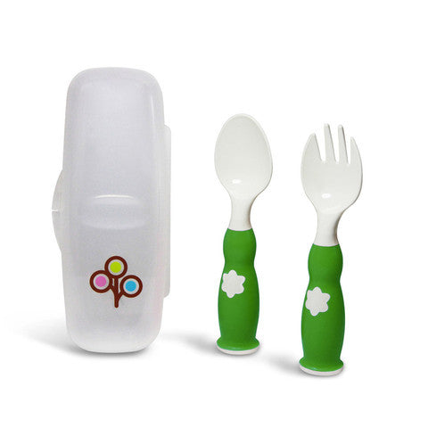 FORK & SPOON Ergonomic Fork & Spoon Set