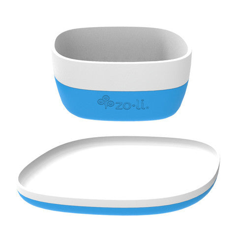 NOSH XL Ceramic Bowl & Plate Set
