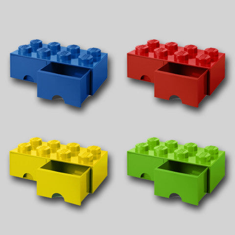 LEGO Storage 2 Drawers - 8 Bricks