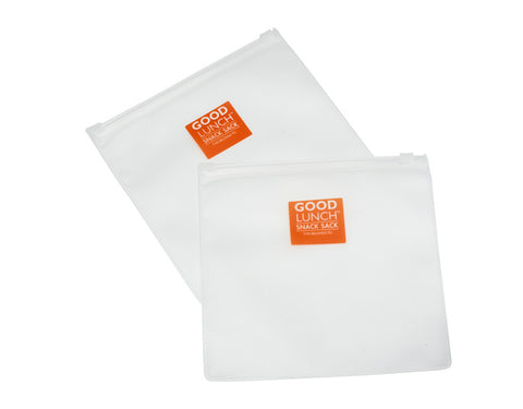 Good Lunch® Clear Snack Pouch Set