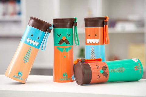 Mr. Mustache Insulated Drink Bottle/Flask