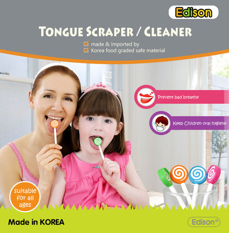 Korean EDISON Tongue Scraper / Cleaner