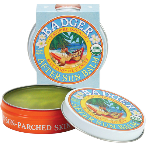 Badger - After Sun Balm (Organic skin moisturizer for after sun exposure)