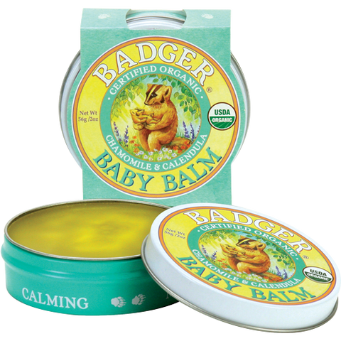 Badger - Baby Balm (Organic Soothing & Protection for sensitive Skin)