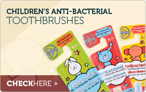 Children's Toothpaste-FREE Antibacterial Toothbrush