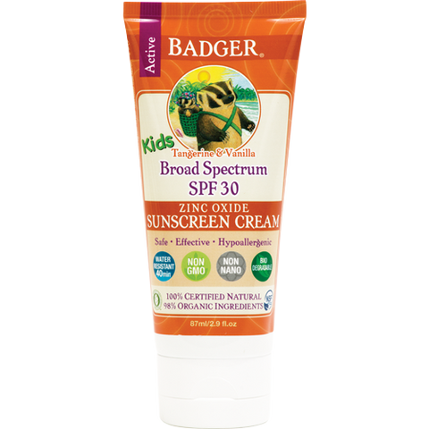 Badger - KIDS Broad Spectrum Sunscreen Cream SPF 30