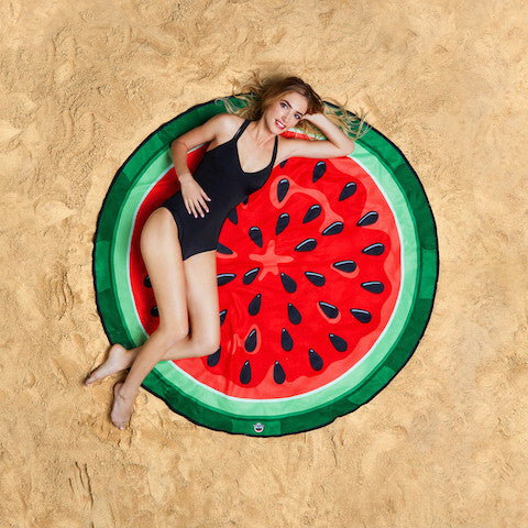 Summer Fun Beach Blanket/Towel - Watermelon