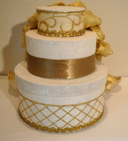 Wedding Shower Centerpiece - Gold